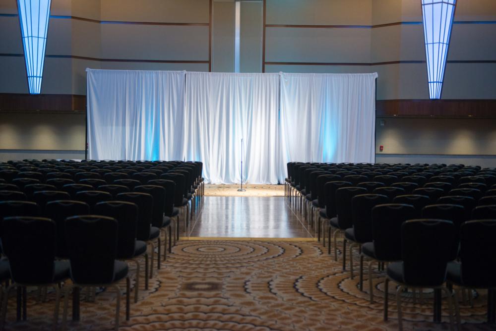 Arcadia Ballroom Ceremony Setup, Standard