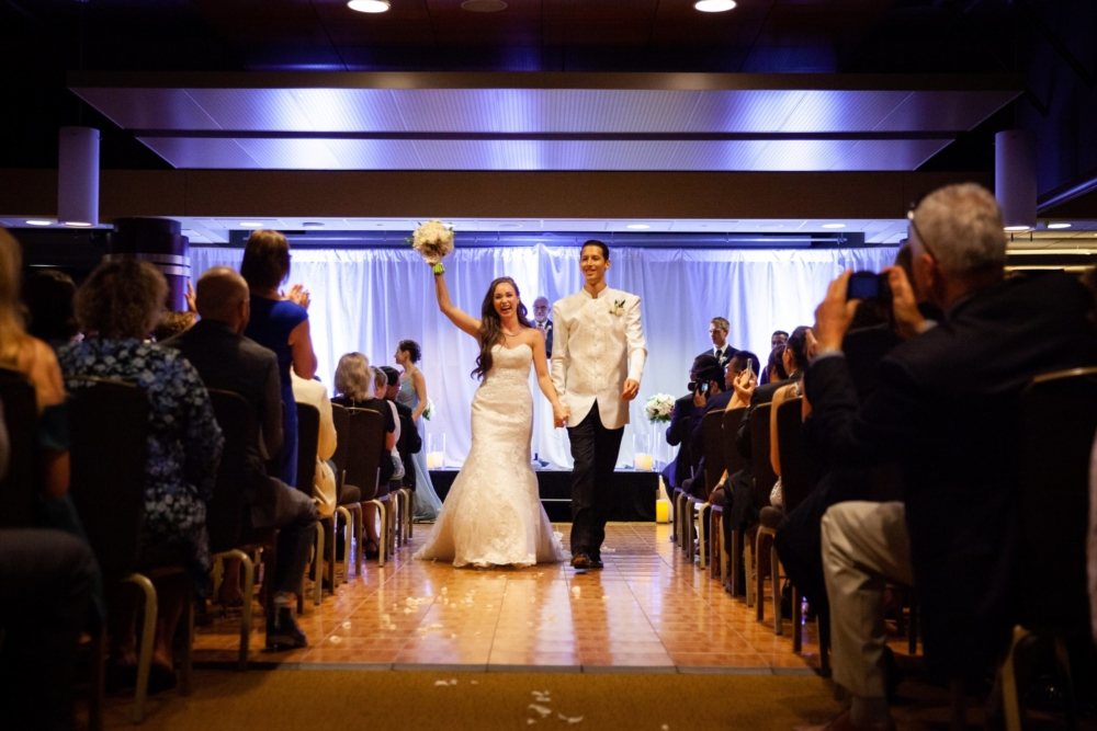 Kalamazoo Room Ceremony, Walk Down Aisle